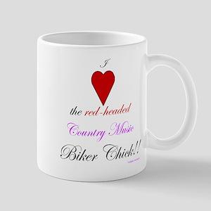 Heart The Biker Chick Mug