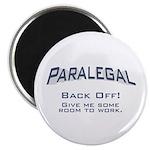 Paralegal / Back Off Magnet