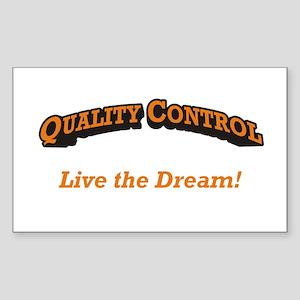 Quality Control / Dream Sticker (Rectangle)
