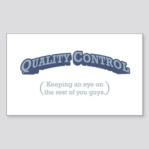 Quality Control / Eye Sticker (Rectangle)