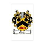 Oliver Coat of Arms Rectangle Sticker