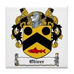 Oliver Coat of Arms Tile Coaster