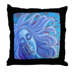 My Thoughts Fly Far Beyond Me Throw Pillow
