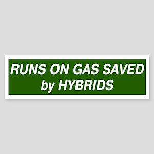 Runs On Gas Saved by Hybrids