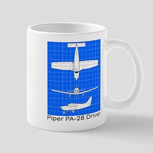Piper PA-28 Driver Mugs