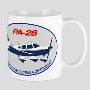 Id Rather be Flying a Cherokee! Mugs