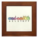 ASLstuff Logo Framed Tile