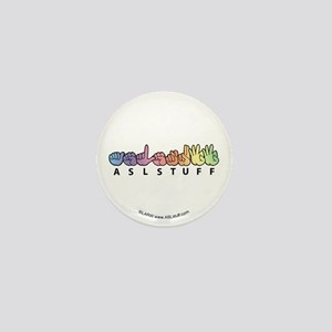 ASLstuff Logo Mini Button