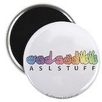 ASLstuff Logo Magnet