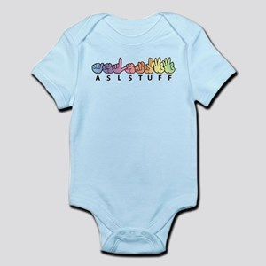ASLstuff Logo Infant Bodysuit