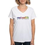 ASLstuff Logo Women's V-Neck T-Shirt
