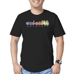 ASLstuff Logo Men's Fitted T-Shirt (dark)