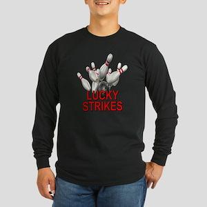 Lucky Strikes Long Sleeve Dark T-Shirt
