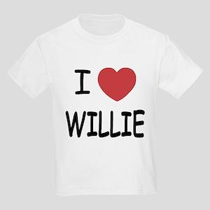 I heart Willie Kids Light T-Shirt