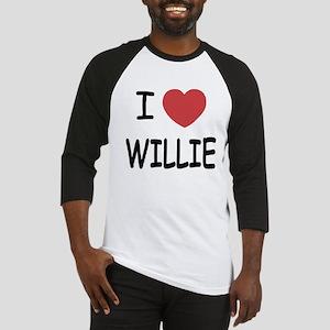 I heart Willie Baseball Jersey