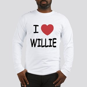 I heart Willie Long Sleeve T-Shirt
