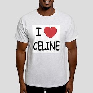 I heart Celine Light T-Shirt