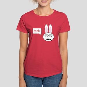 Meh Bunny Women's Dark T-Shirt
