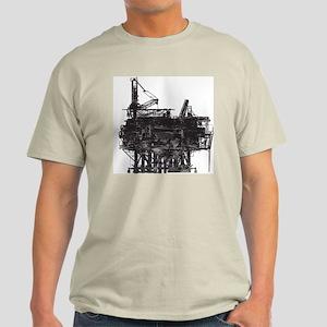 Vintage Oil Rig Light T-Shirt