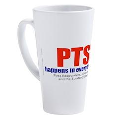 Ptsd 17 Oz Latte Mug