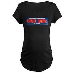 Democrat Civil War Maternity T-Shirt