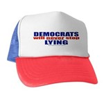Democrats Lie Trucker Hat