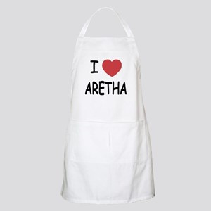 I heart Aretha Apron
