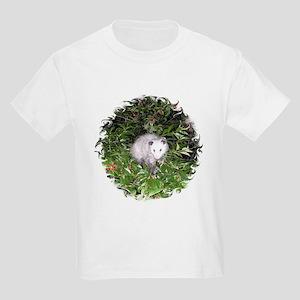 Opossum Cherry Tree Kids Light T-Shirt