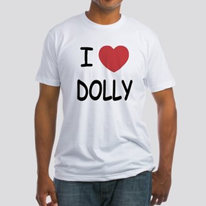 I heart Dolly Fitted T-Shirt