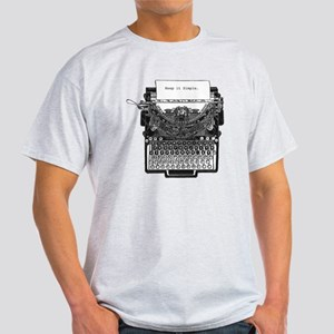 Vintage Typewriter Light T-Shirt