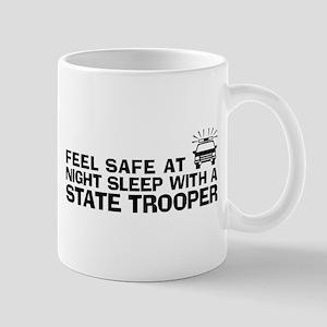 Funny State Trooper Mug