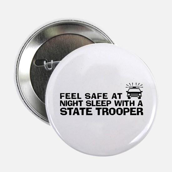 """Funny State Trooper 2.25"""" Button"""