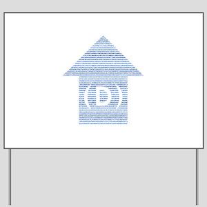 dem arrow all states 02 Yard Sign
