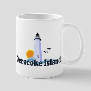 Ocracoke Island - Lighthouse Design Mug