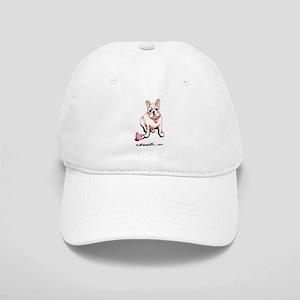 Cream French Bulldog Cap
