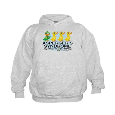 Asperger's Syndrome Ugly Duck Kids Hoodie