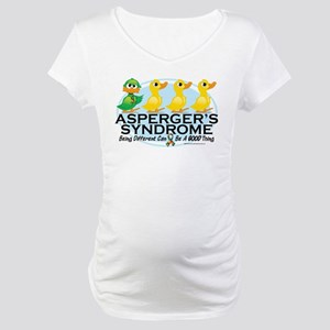 Asperger's Syndrome Ugly Duck Maternity T-Shirt