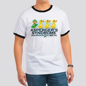 Asperger's Syndrome Ugly Duck Ringer T