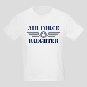 Air Force Daughter Kids Light T-Shirt