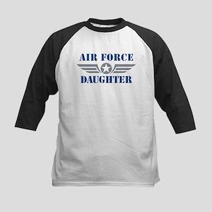 Air Force Daughter Kids Baseball Jersey