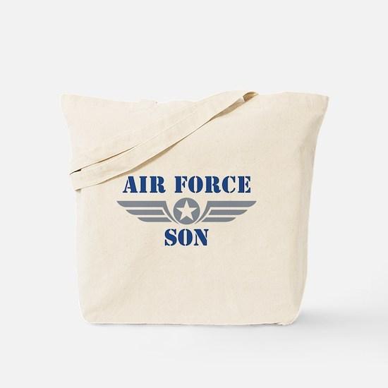 Air Force Son Tote Bag