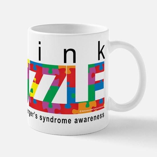Asperger'sThink Puzzle Mug