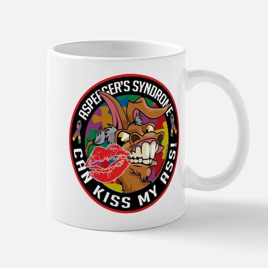 Asperger's Syndrome Can Kiss Mug