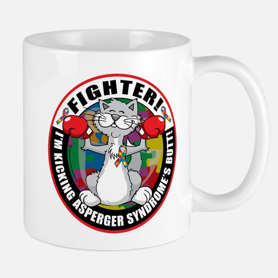 Asperger's Syndrome Fighter C Mug