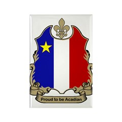 Proud Acadian Rectangle Magnet (100 pack)