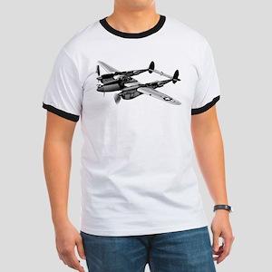 P-38 Lightning B&W Ringer T