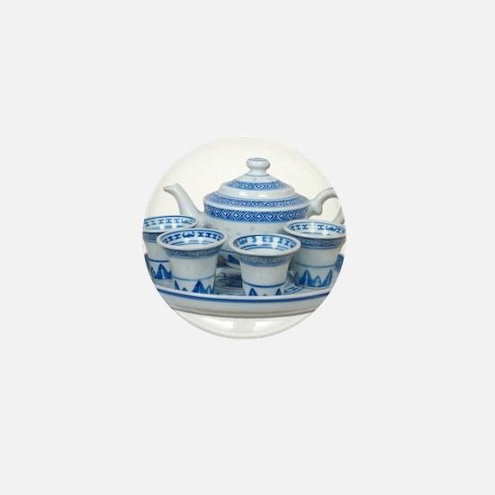 Tea Time Mini Button