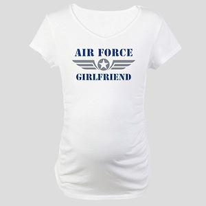 Air Force Girlfriend Maternity T-Shirt