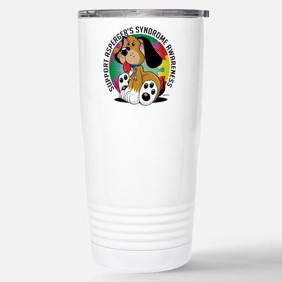 Asperger's Syndrome Dog Stainless Steel Travel Mug