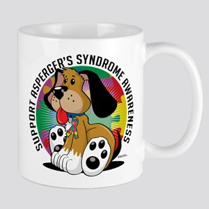 Asperger's Syndrome Dog Mug
